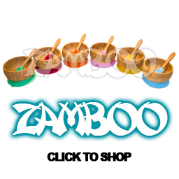 Zamboo Suction Bowl & Spoon Set